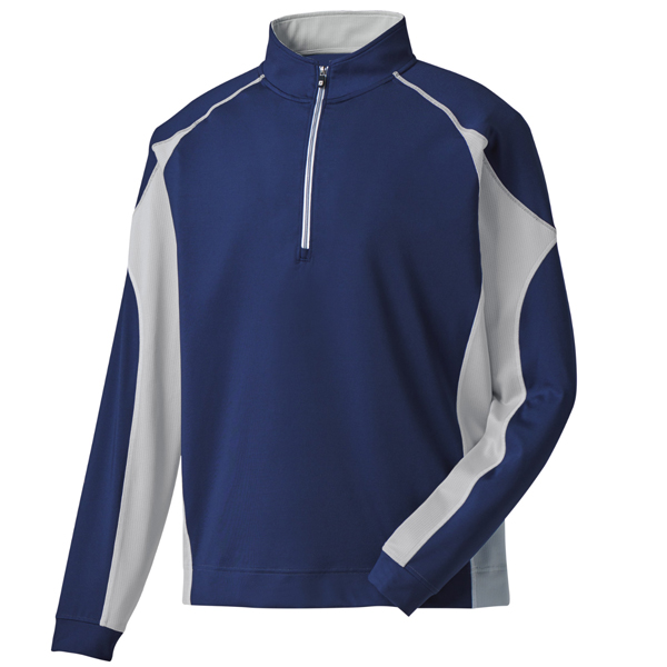 FootJoy Mixed Texture Half-Zip Pullover