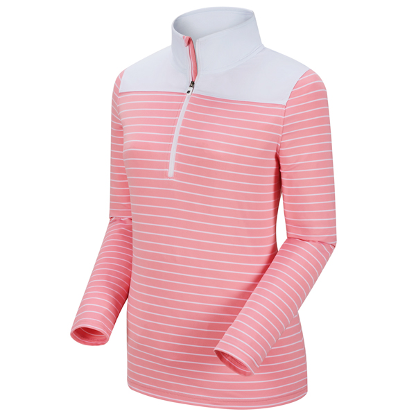 FootJoy Womens Half-Zip with Solid Yoke