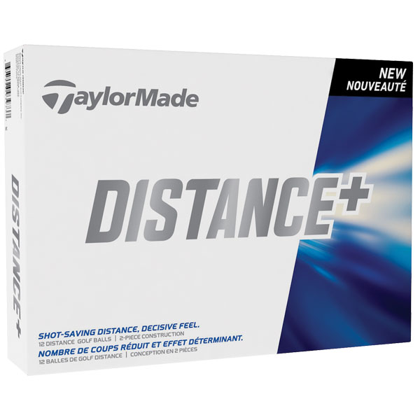 Taylormade Distance plus (White)