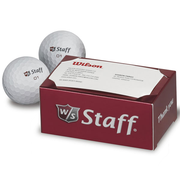 Wilson 2-Ball Thank You Box