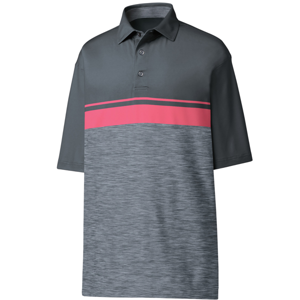 FootJoy ProDry Performance color Block with Space Dye- Self Collar Polo