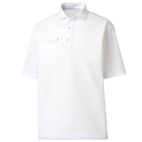 FootJoy ProDry Performance Spun Poly, Chest Pocket - Self Collar Polo