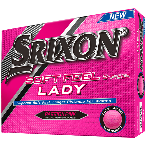 Srixon Soft Feel Lady 5 Pink