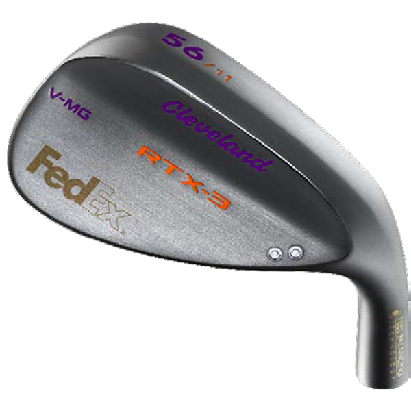 My custom Wedge Custom Logo From Clevland